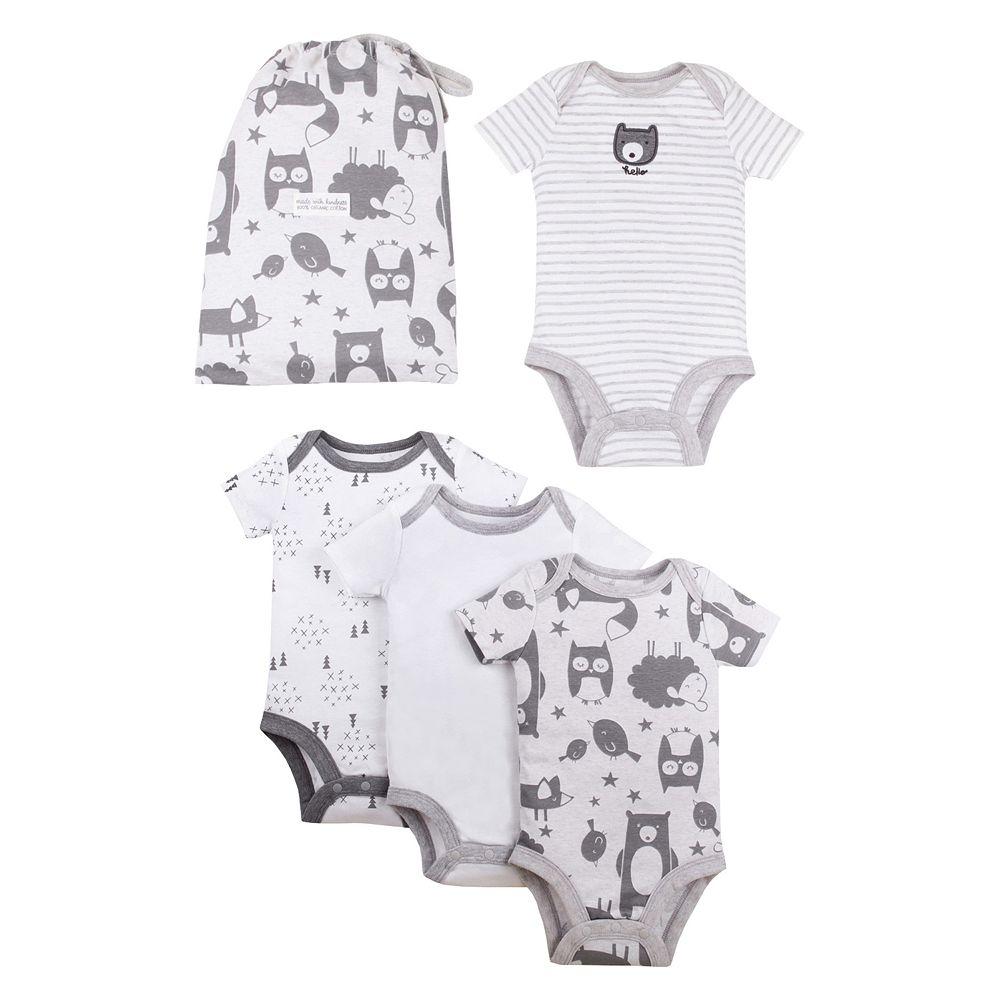 Baby Girl 4-Pack Lamaze® Pure Organic Bodysuit