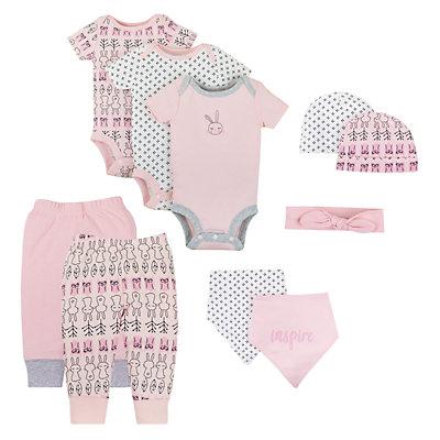 Baby Girl Lamaze Organic 10-piece Set