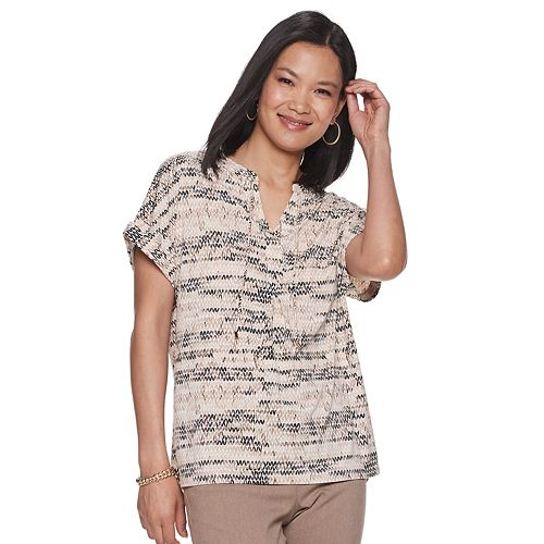 Women's Dana Buchman Short Sleeve Tee