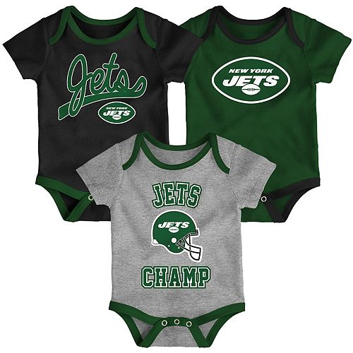 Baby NFL New York Jets Champ Bodysuit 3-Pack