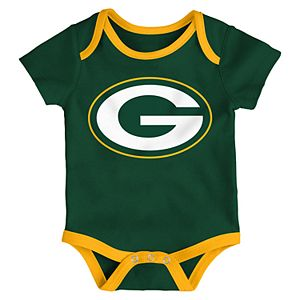 Baby NFL Green Bay Packers Champ Bodysuit 3-Pack