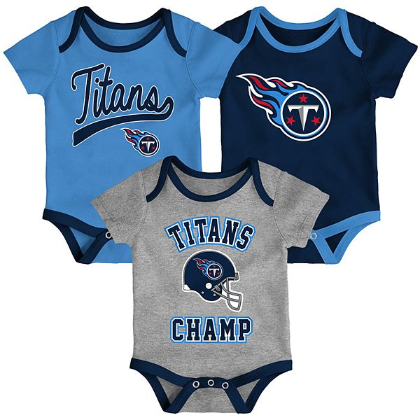 Baby NFL Tennessee Titans Champ Bodysuit 3-Pack