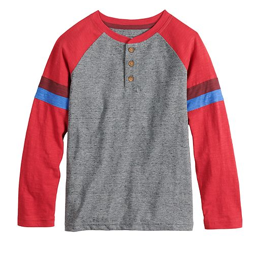 Boys 4-12 SONOMA Goods for Life® Raglan Henley Top