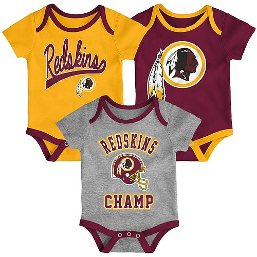 Baby NFL Washington Redskins Champ Bodysuit 3-Pack