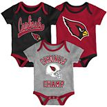 Baby NFL Arizona Cardinals Champ Bodysuit 3-Pack