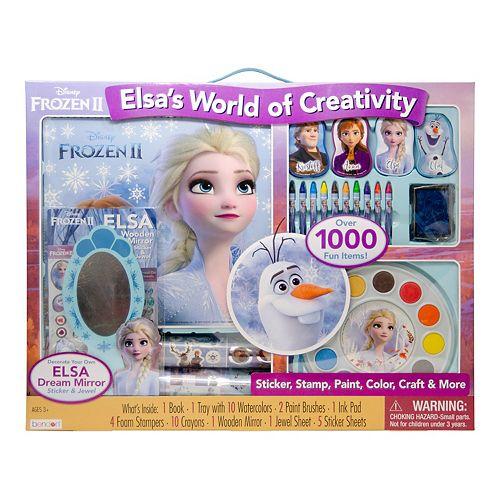 Disney's Frozen 2 Elsa's World Of Creativity Set