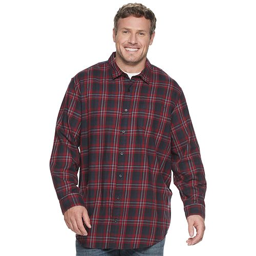 Big & Tall Apt. 9 Flannel Shirt by Apt. 9