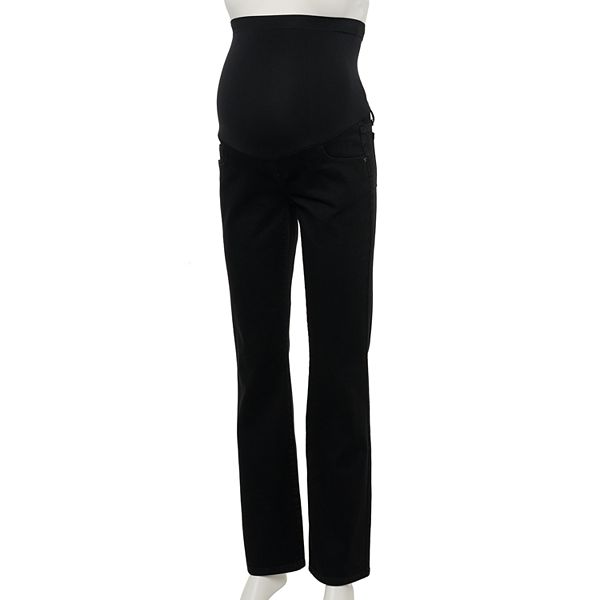 Maternity A Glow Full Belly Panel Bootcut Jeans