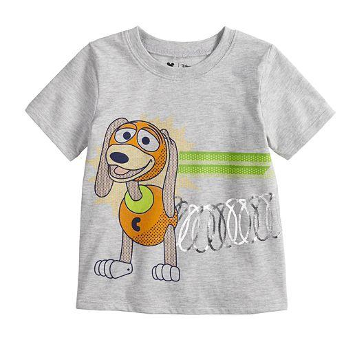 8c95f0cfe Disney / Pixar Toy Story 4 Toddler Boy Slink Front & Back Graphic Tee ...