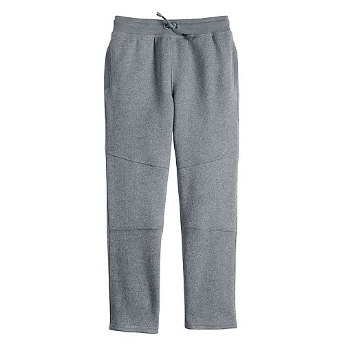 Boys 4-12 SONOMA Goods for Life™ Knee-Seam Open-Leg Fleece Sweatpants