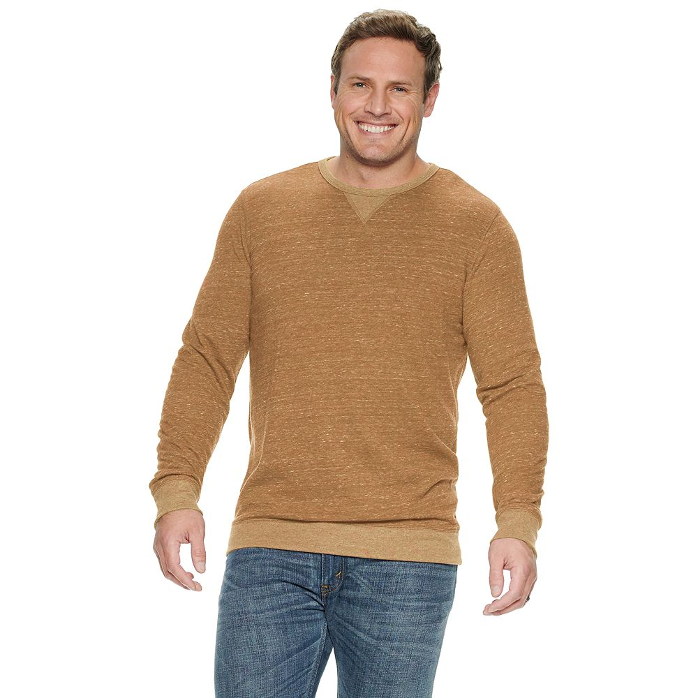 Big & Tall SONOMA Goods for Life® Super Soft Double Knit Crewneck Tee