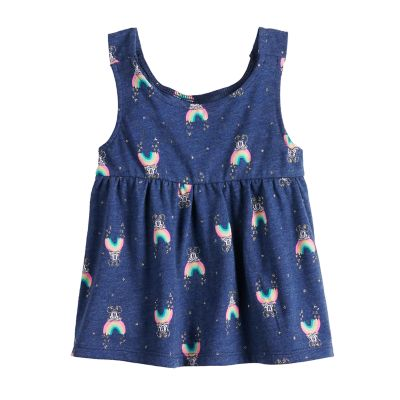 Disney's Minnie Mouse Baby Girl Babydoll Rainbow Print Tank Top by Jumping Beans®