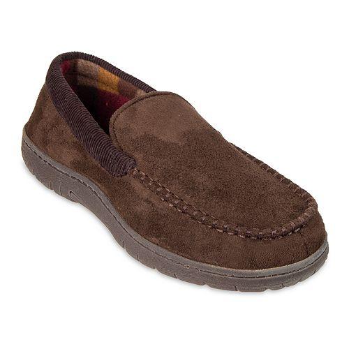 Men's HeatKeep Moccasin Slippers