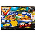 Spinmaster Monster Jam Max-D Monster Dirt Kinetic Sand Set