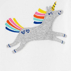 Toddler Girl Carter's 4 Piece Unicorn Pajama Set