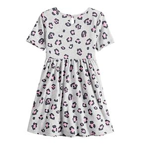 Toddler Girl Jumping Beans® Leopard Skater Dress