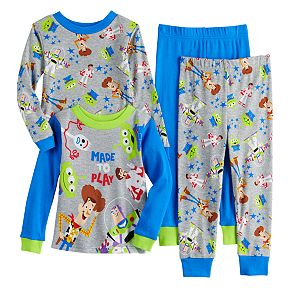Toddler Boy Toy Story Cotton Tops & Bottoms Pajama Set