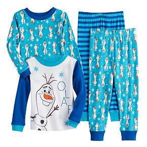 Toddler Boy Frozen Cotton Tops & Bottoms Pajama Set