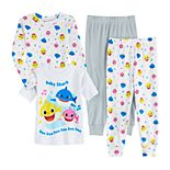 Toddler Boy Baby Shark Cotton Tops & Bottoms Pajamas Set (Set of 2)