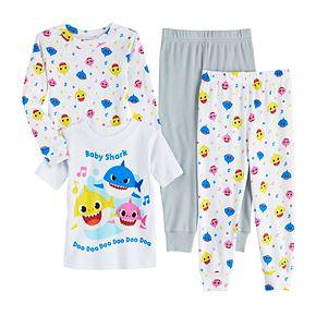Toddler Boy Baby Shark Cotton Tops & Bottoms Pajamas Set (Set of 2)