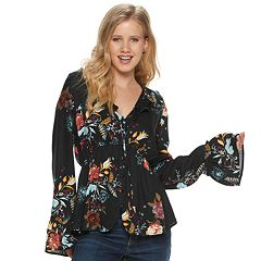 4259a467c3b6c Womens Tunics Long Sleeve Tops & Tees - Tops, Clothing | Kohl's
