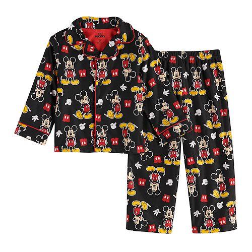 Disney's Mickey Mouse Toddler Boy Top & Bottom Pajama Set