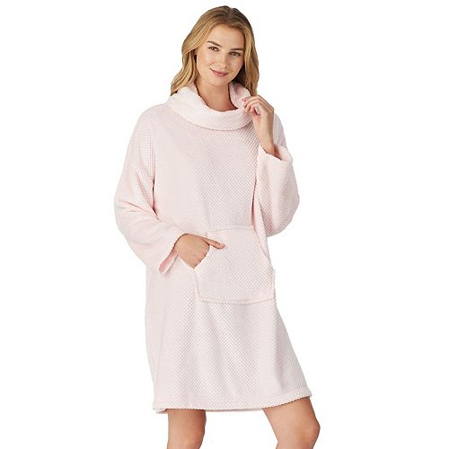 Women's Stan Herman Missy Classic Dimple Plush Pullover