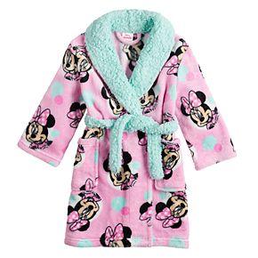 Disney's Minnie Mouse Toddler Girl Plush Robe