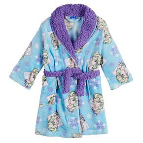 Disney's Frozen Elsa Toddler Girl Plush Robe