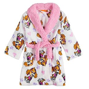 Toddler Girl Paw Patrol Skye Plush Robe