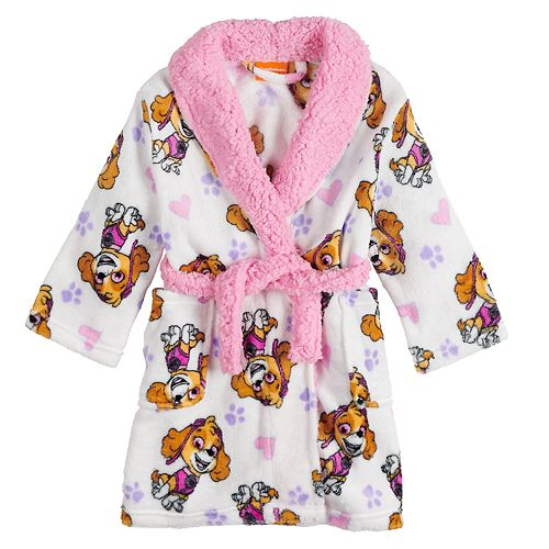 Toddler Girl PAW Patrol Skye Plush Robe