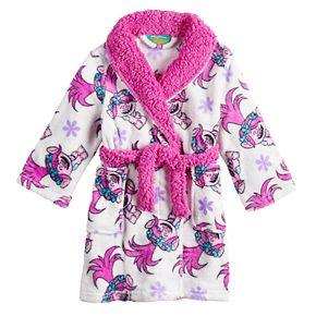Toddler Girl Dream Works Trolls Poppy Plush Robe