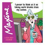 Maxine 2020 Daily Desktop Calendar