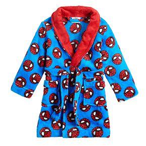 Toddler Boy Marvel Super Hero Adventures Robe