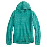 Girls 7-16 & Plus Size SO® Shiny Chenille Hoodie