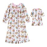 Toddler Girl Paw Patrol Nightgown with Matching Doll Gown