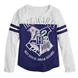 Girls 7-16 Harry Potter Shining Hogwarts Long Sleeve Tee Shirt