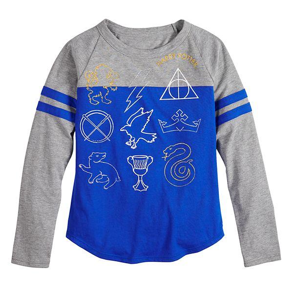 Girls 7-16 Harry Potter Icons Long Sleeve Tee Shirt