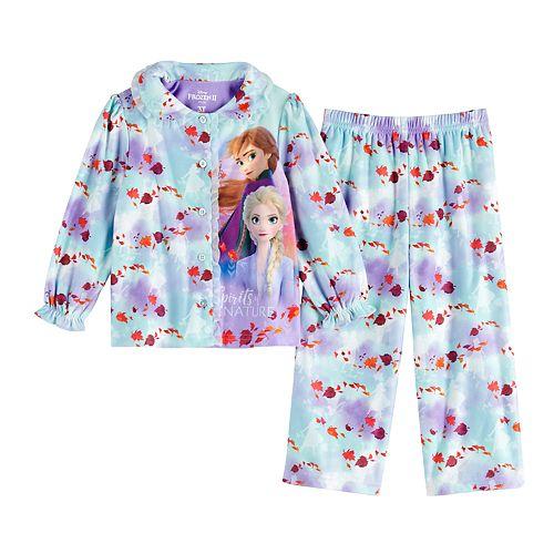 Toddler Girl Disney's Frozen 2 Top & Bottom Pajama Set
