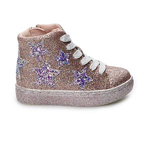 Jumping Beans Lemon Sherbert Toddler Girls' High Top Shoes