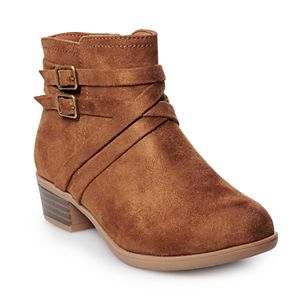 SO® Brooklyn Girls' Ankle Boots