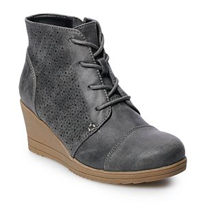 SO® Kaden Girls' Wedge Ankle Boots