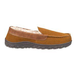 Men's Chaps Genuine Suede Venetian Moccasin Slippers