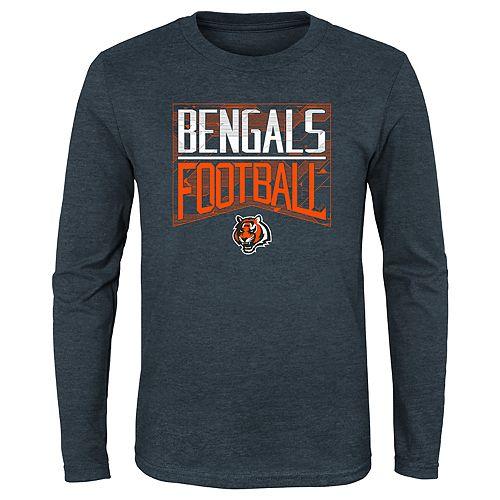 Boy's 4-20 NFL Cincinnati Bengals Energy Long-sleeve Tee