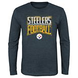 Boy's 4-20 NFL Pittsburgh Steelers Energy Long-sleeve Tee
