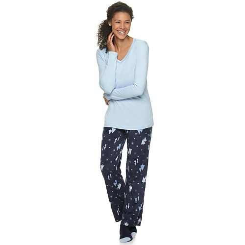 Women's Croft & Barrow® 3-Piece Pajama Set
