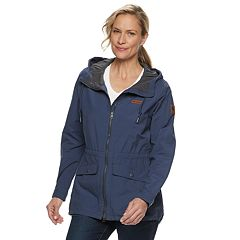 a7da79fb18fe Women's Columbia Cultus Lake Hooded Anorak Jacket. Cypress Shark Nocturnal  Black