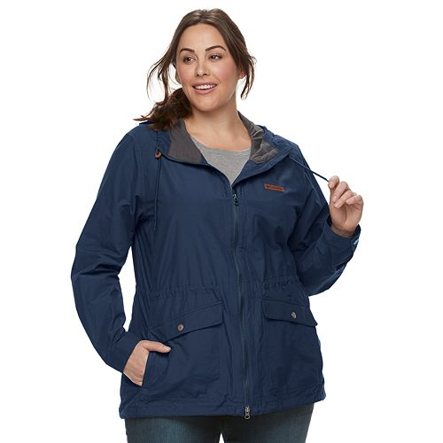 b63d55ac17e Plus Size Columbia Cultus Lake Hooded Anorak Jacket
