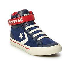 Boys' Converse CONS Pro-Blaze Leather High Top Shoes