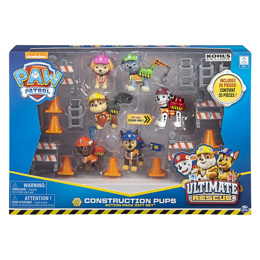 Spin Master Paw Patrol Ultimate Construction Set